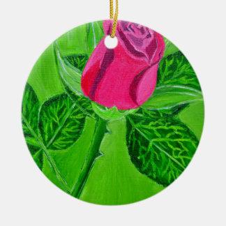 Rose 1a christmas ornament