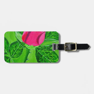 Rose 1a luggage tag