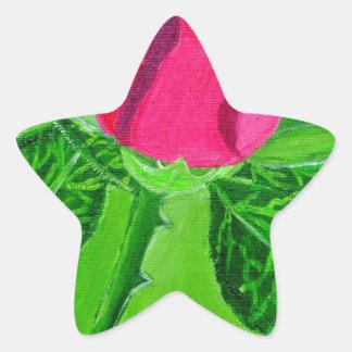 Rose 1a star sticker