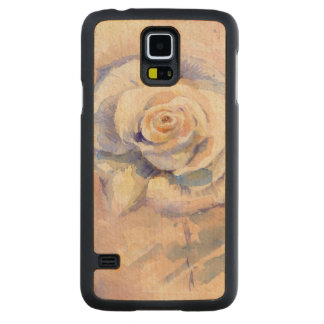 Rose 2 carved maple galaxy s5 case