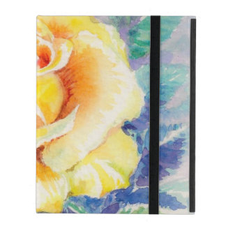 Rose 2 iPad folio case