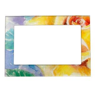 Rose 2 picture frame magnet