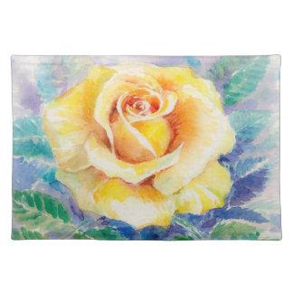 Rose 2 placemat