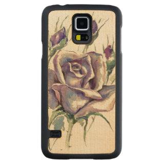 Rose 3 maple galaxy s5 slim case