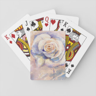 Rose 4 playing cards