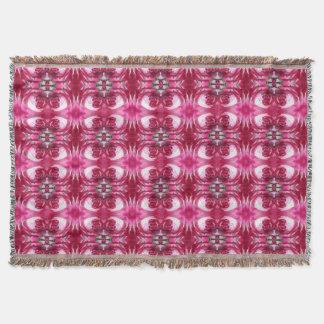Rose 776 - 3 Fractal Rug 2 Throw Blanket