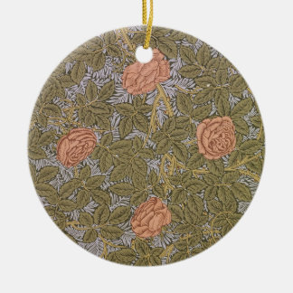 'Rose - 93' wallpaper design Christmas Ornament