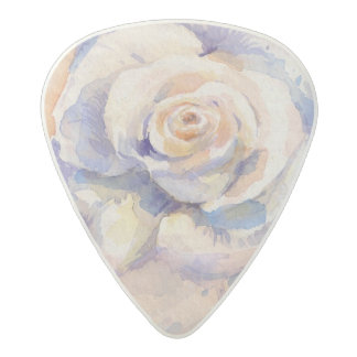 Rose Acetal Guitar Pick