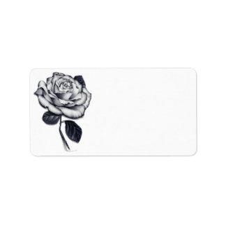 Rose Address Labels