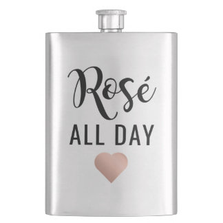 Rosé All Day Hip Flask