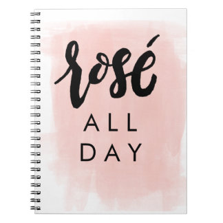 Rosé All Day Notebook