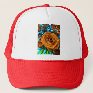 Rose and Agapanthus Trucker Hat
