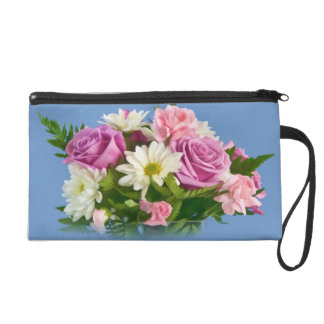 Rose and Daisy Bouquet, Bagettes Accessory Bag