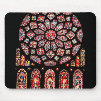 Rose and lancet windows from the north wall mouse pad