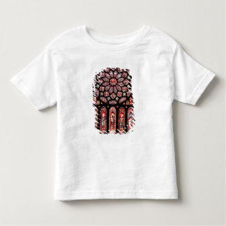 Rose and lancet windows from the north wall toddler T-Shirt