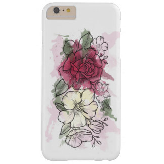 Rose and Lily Barely There iPhone 6 Plus Case