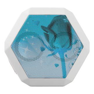 rose and love aqua white boombot rex bluetooth speaker