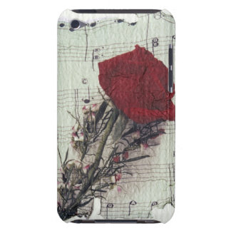 <Rose and Music> by Kim Koza 2 Barely There iPod Cases