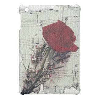 <Rose and Music> by Kim Koza 2 iPad Mini Cover