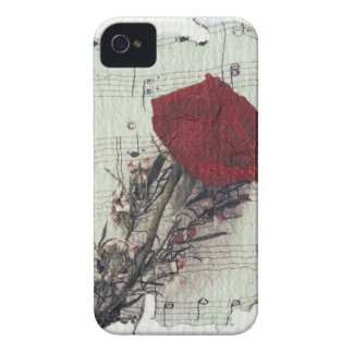 <Rose and Music> by Kim Koza 2 iPhone 4 Cover