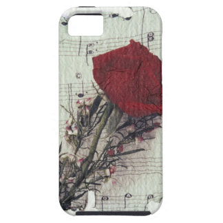 <Rose and Music> by Kim Koza 2 iPhone 5 Covers