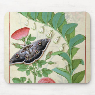 Rose and Polygonatum Mouse Mat