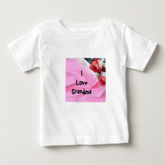 Rose and silk tee shirts