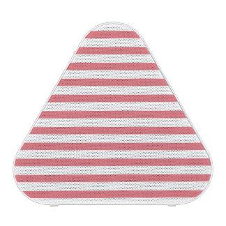 Rose and White Horizontal Stripe