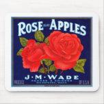 Rose Apples Wenatchee Washington Mouse Mat