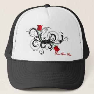 Rose Arms Trucker Hat - Black