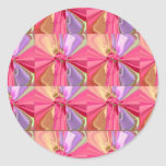 Rose Art Celebration Series 2012 Round Sticker