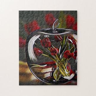 Rose Artwork Jigsaw Puzzle