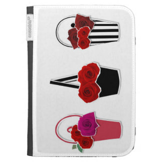 Rose Baskets Cases For The Kindle