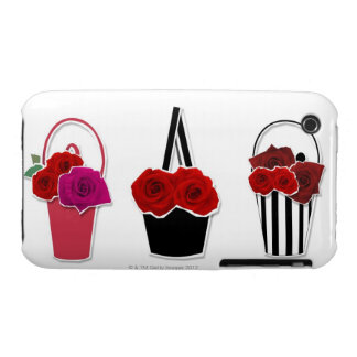 Rose Baskets iPhone 3 Cases