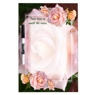 Rose Beauty Dry Erase Board