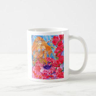 rose bellydancer mermaid mug
