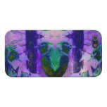 Rose Birds, Abstract Violet Pink Cycle iPhone 5 Case