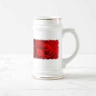 Rose Blossom Beer Stein Coffee Mugs