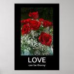 Rose Bouquet Anti-Valentines Demotivational Poster