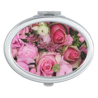 Rose bouquet by Therosegarden Vanity Mirror