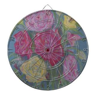 Rose Bouquet Dartboard