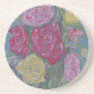 Rose Bouquet Drink Coaster
