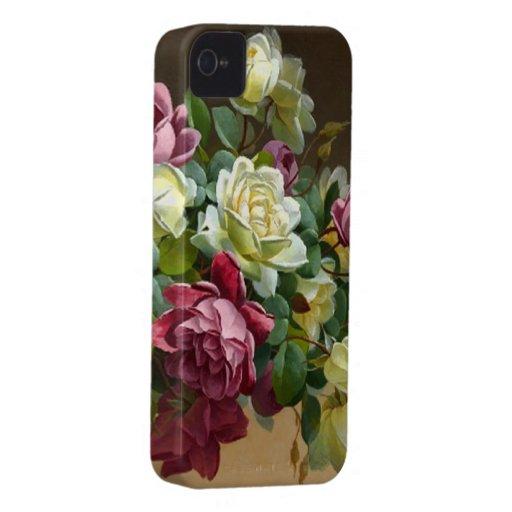 Rose Bouquet Fine Art Case-Mate Case iPhone 4 Covers