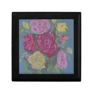 Rose Bouquet Small Square Gift Box