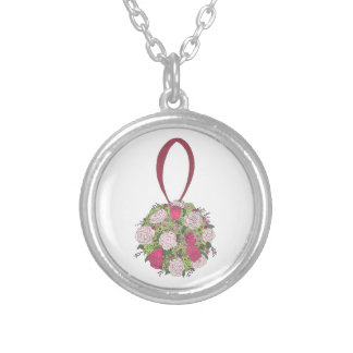 Rose Bouquet Wedding Bridesmaid Bride Necklace