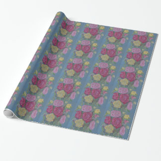 Rose Bouquet Wrapping Paper