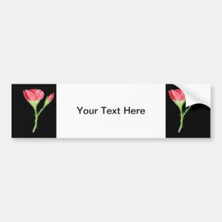 Rose Car Bumper Sticker