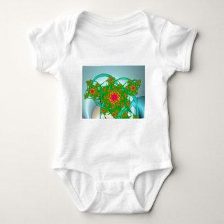 Rose Bush Baby Bodysuit