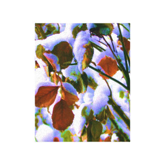 Rose Bush Surprise Canvas Print