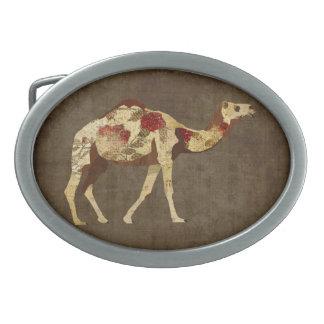 Rose Camel Belt Buckle